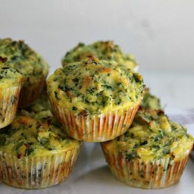 spinach muffins with feta cheese