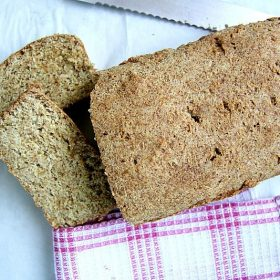low carb bread loaf