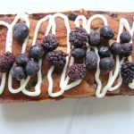 Mixed berry loaf