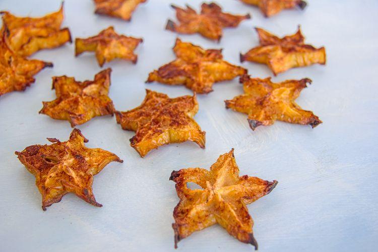 keto star fruit chips