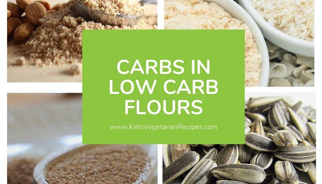 low carb flours