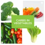 carbs in vegetables