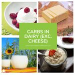 carbs in dairy
