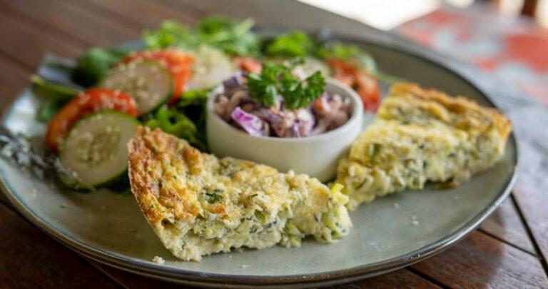 zucchini crustless quiche