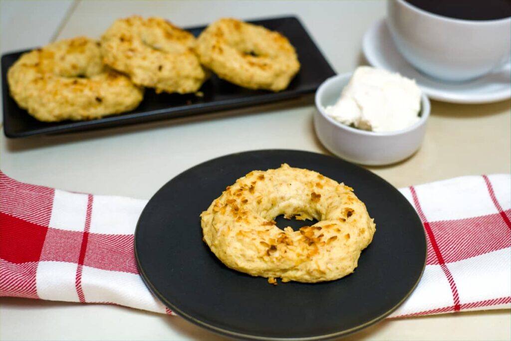 low carb onion bagels