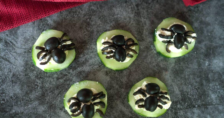 cucumber snacks halloween