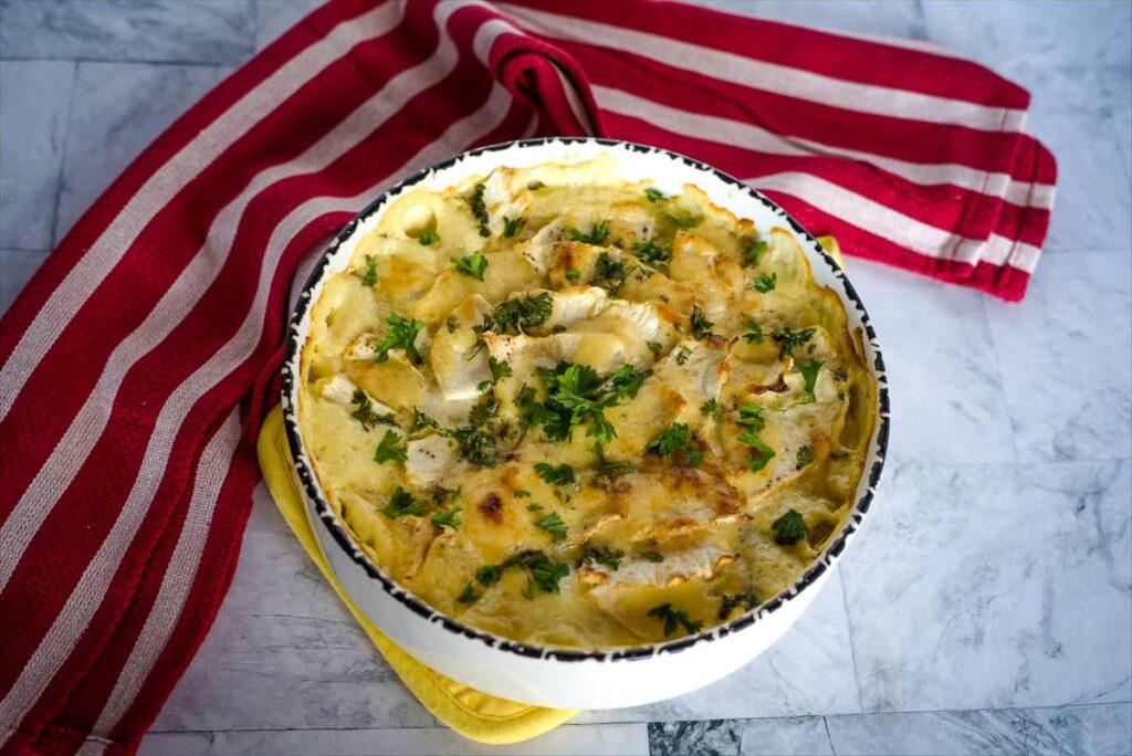low carb celeriac gratin