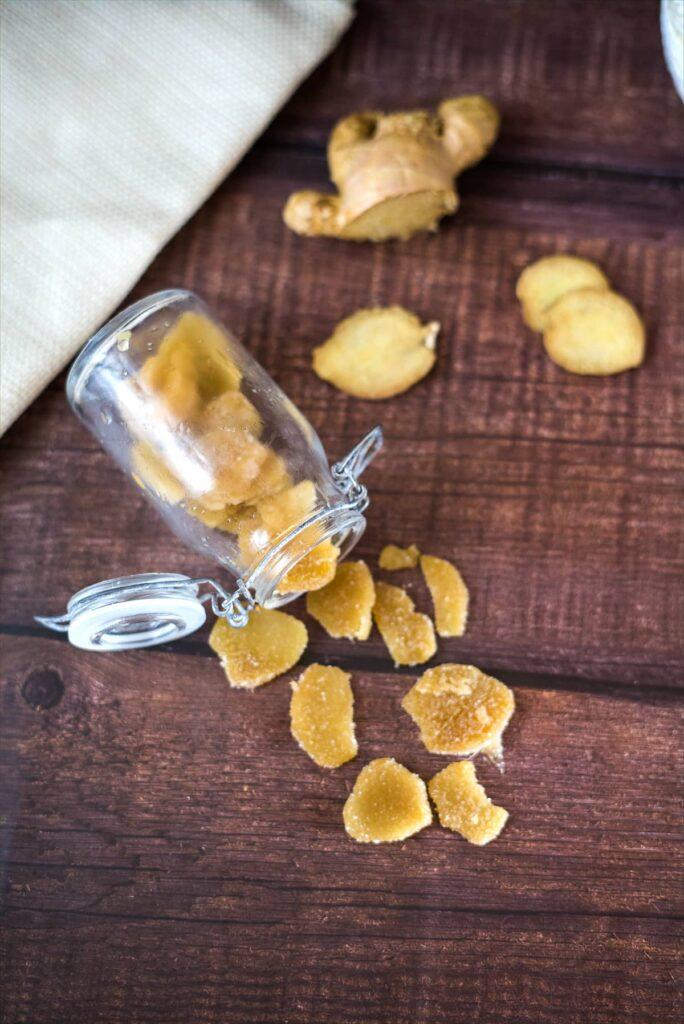 sugar free ginger slices