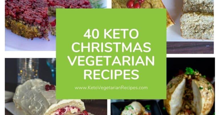keto vegetarian christmas recipes