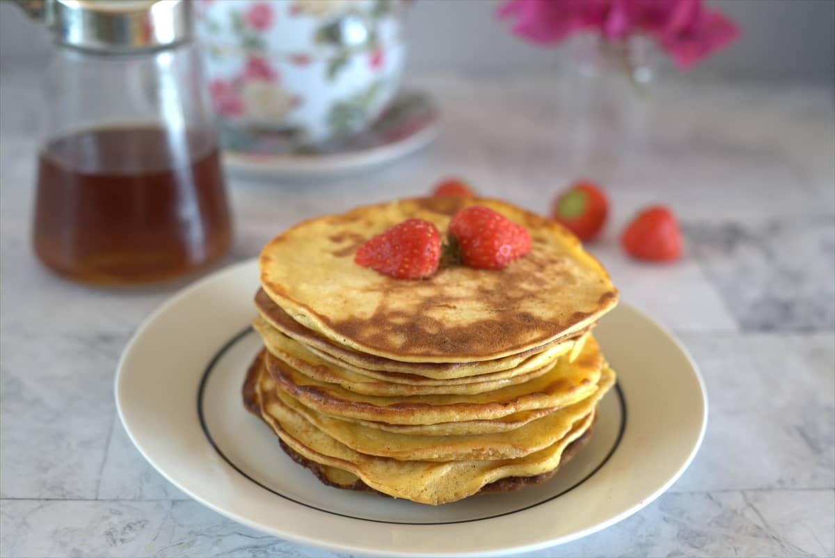 cream cheese pancakes