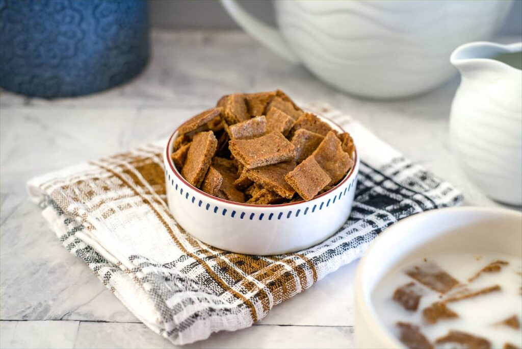 almond butter cereal squares
