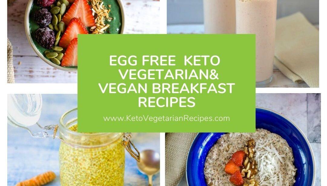 keto egg free breakfast recipes