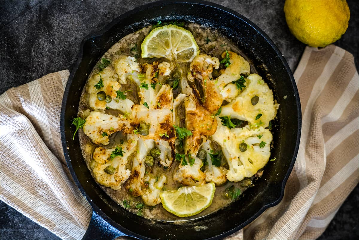 cauliflower piccata