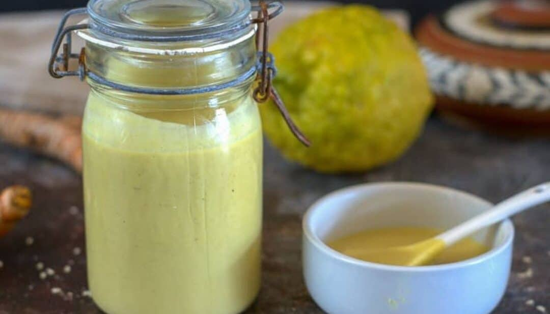 tahini lemon dressing