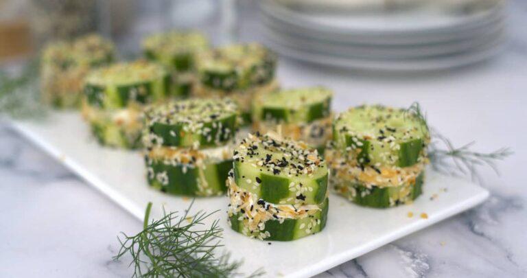 cucumber bites