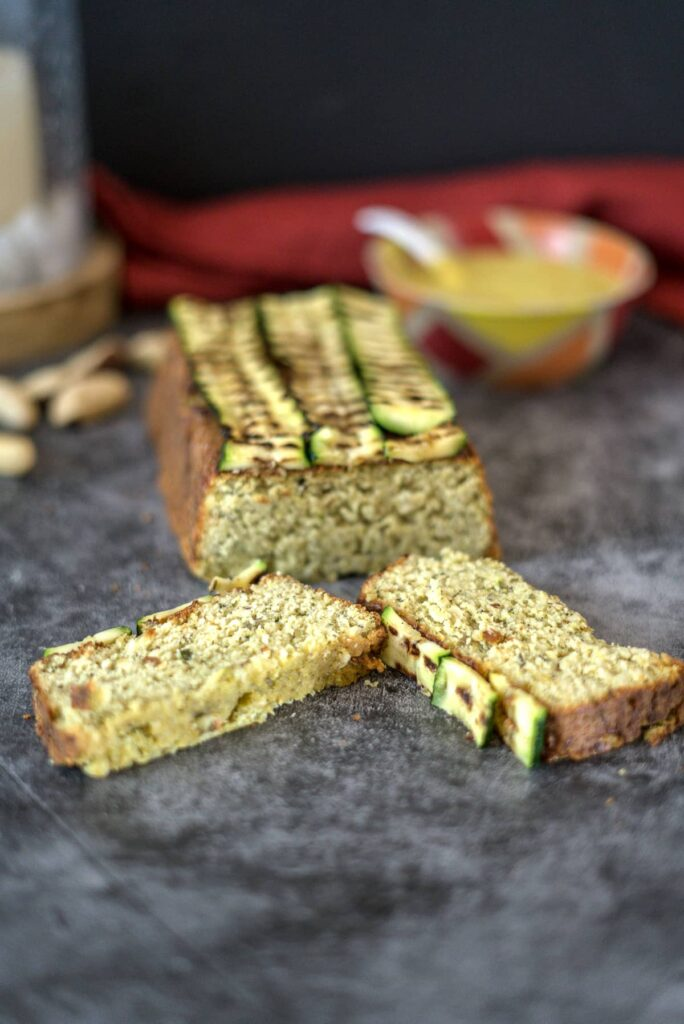 zucchini and brazil nut loaf