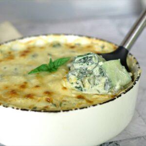 spinach zucchini roll ups