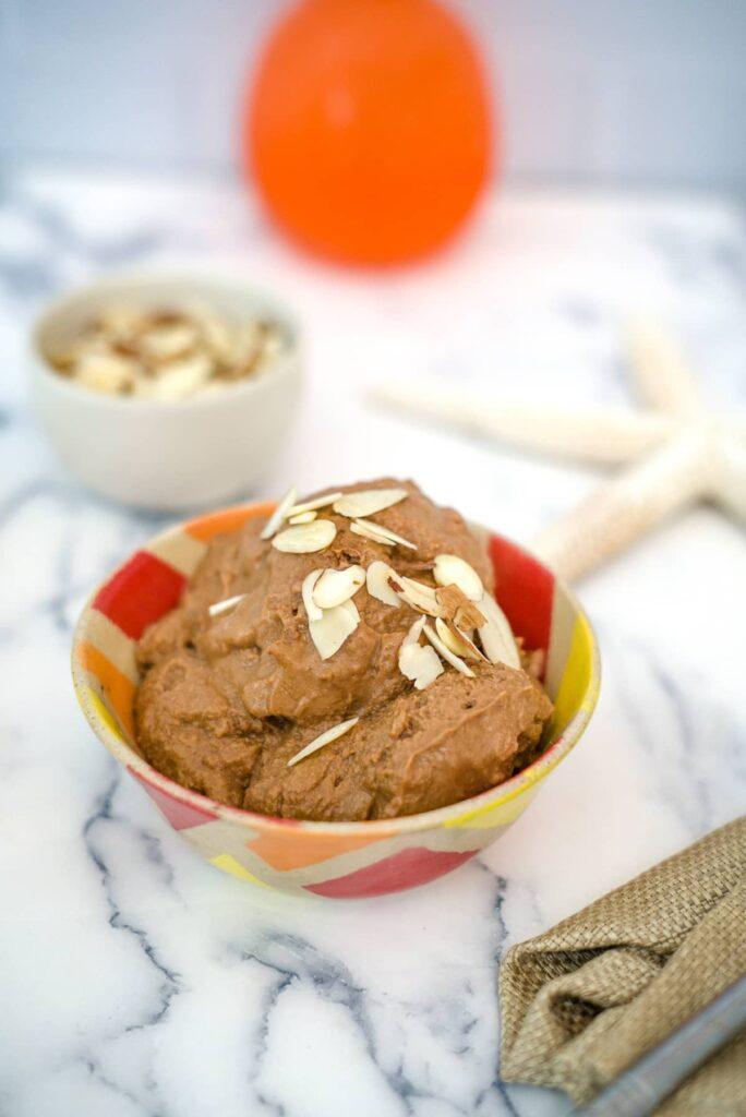 chocolate vegan ice cream