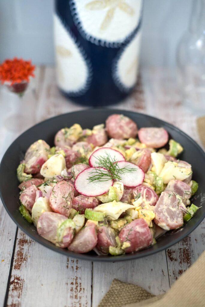 radish potato salad