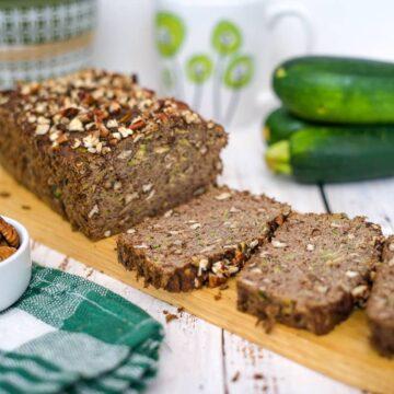zucchini bread loaf