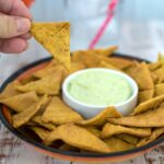 keto tortilla chips with lupin flour