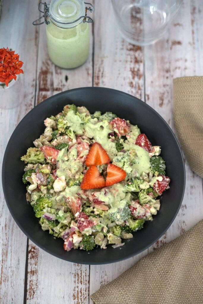 broccoli strawberry