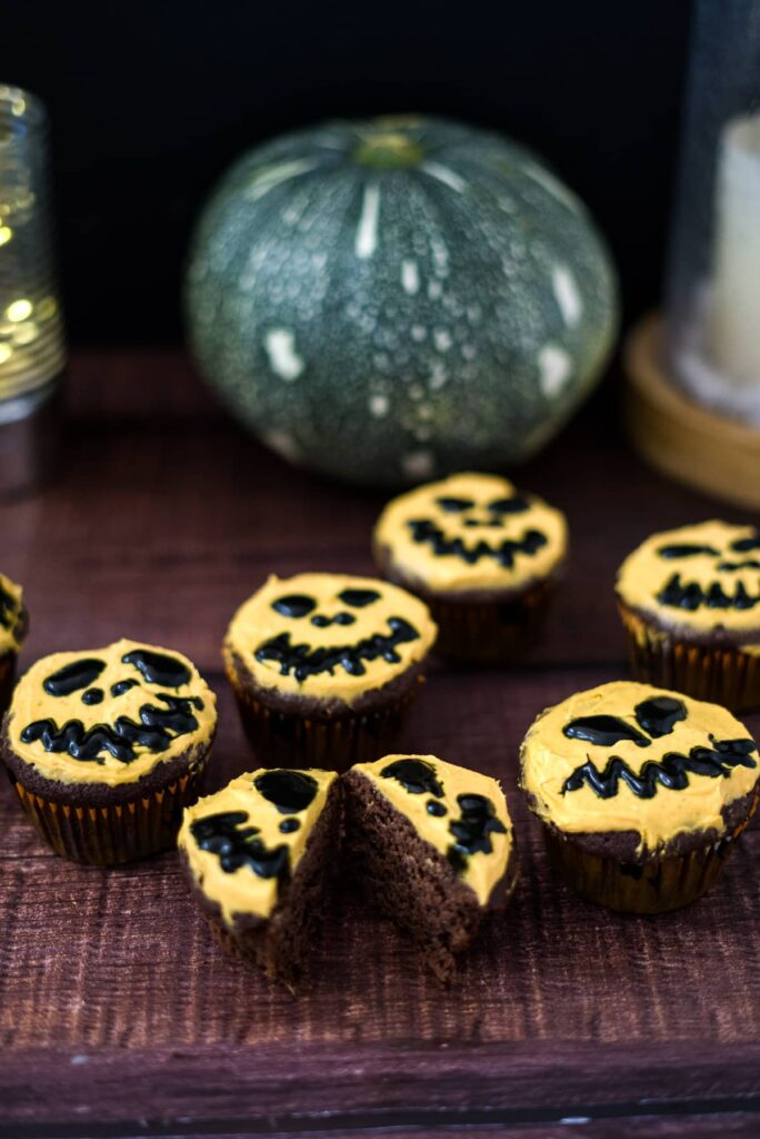 keto halloween cupcakes