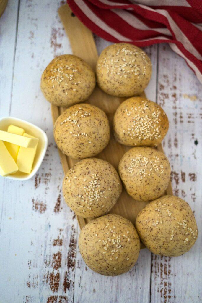 bread rolls no flour