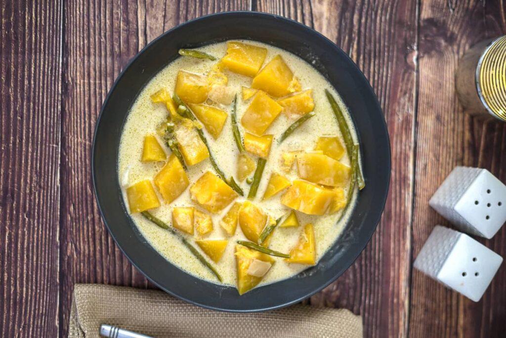 thai pumpkin vegan curry