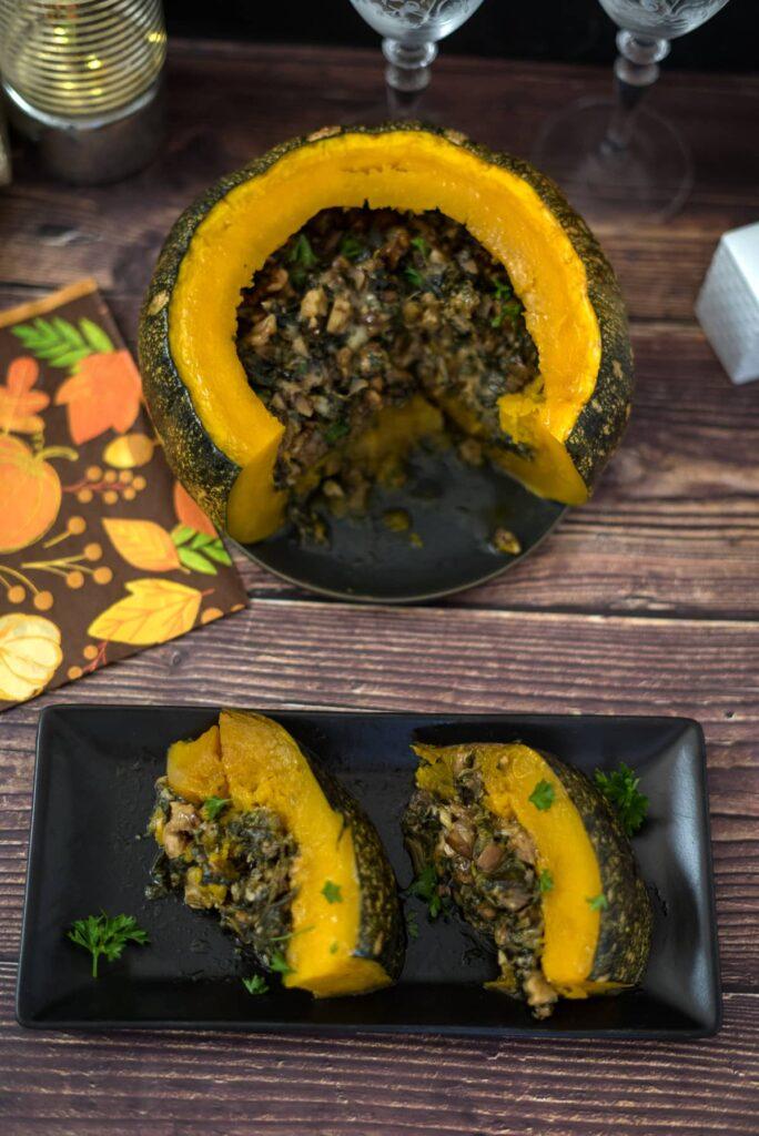 stuffed pumpkin recipe