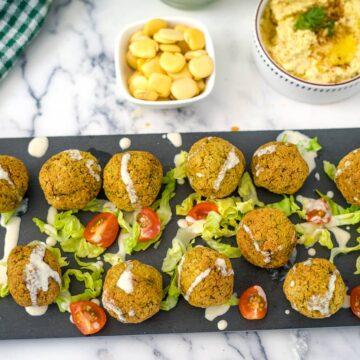 lupini bean falafel